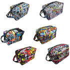 DC Comics Wash Bag/Toiletries Bag - Batman/Superman/Flash/Joker - New Official