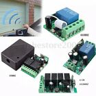 1-4 CH DC12V AC220V Wireless RF Remote Control Receiver Relay Switch 315/433MHz