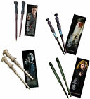 Harry Potter - Wand Pen And Bookmart Set In Sealed Pack New Official Dumbledore