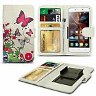 For HTC One X+ - Printed Design PU Leather Wallet Case Cover
