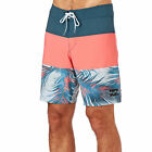 Billabong Board Shorts - Billabong Tribong X Fronds 18 Board Shorts - Neo Red