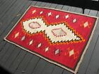 Navajo Native American Indian Rug ANTIQUE CLASSIC GANADO CRYSTAL EXCELLENT COND!
