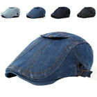 Hotsale Adult Wash Denim Peaked Newsboy Hats Women and Men C