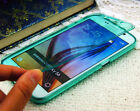 Touch Screen Transparent  Soft TPU FIip Phone Cover Case for Samsung Galaxy S6