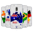 HEAD CASE DESIGNS GEOMETRIC MAPS SOFT GEL CASE FOR MOTOROLA MOTO G4 PLAY