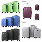 3 Pcs Luggage Set ABS Spinner Trolley 4 Wheels Carry-on Bag Travel Suitcase H1B4