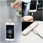 Magnetic Adapter Charger USB Data Cable Charging For iPhone Lighting Samsung LG