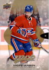 2016-17 Upper Deck MVP Hockey #161 Andrei Markov Montreal Canadiens