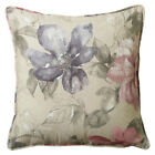 Scatter Box Cara Floral Chenille Feather Filled Cushion, Blush