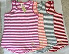 NWT Michael Kors T-shirt basics tank striped pink red grey white women $59.5