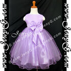 #SBP8 Baby Infant Flower Girl Wedding Pageant Formal Birthday Party Gown Dress
