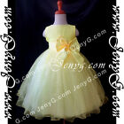 SBY5 Baby Infant Christening Graduation Formal Birthday Party Pageant Gown Dress