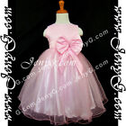 #SBPK5 Baby Infant Christening Pageant Evening Party Formal Birthday Gown Dress