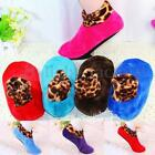 1 Pair Women Girl Non Slip Slipper Socks Fleece Gripper Slippers Yoga Gym Sports