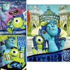 "Licensed Monsters University 60""x80"" Plush Mink Raschel Blanket - in 3 Styles"