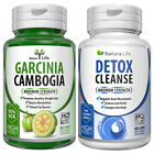 Garcinia Cambogia HCA 95% Colon Detox Cleanse Diet Weight Loss Slimming Capsules $10.45 USD on eBay