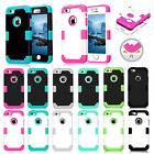 New Shockproof Anti-Scratch 3 In 1 Silicone Plastic Hybird Case Cover For iPhone