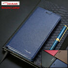 Authentic Genuine Leather Flip Wallet Stand Case Cover For Huawei Honor 8 S001