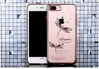 Bling Bling Diamond Crystal Luxury Slim Clear PC Cover Case For iPhone 7/7 Plus