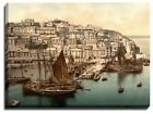Canvas Print Of brixham ii