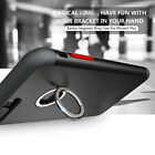 Magnetic Ring Buckle Desktop Case PC+TPU Shockproof Cover For iPhone 7/7 Plus