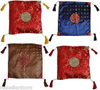 New Beautiful Chinese Calligraphy Toss Cushion Cover Old & New Characters U3 M7