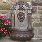 """32"""" Imperial Lion Outdoor Wall Water Fountain"""