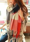 Fashion 2016 Warm Winter Women Long Cashmere Wool Scarf Large Shawl Plaid Scarf
