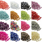 2000X HALF ROUND FLAT BACK PEARLS 2-8MM Rhinestones Embellishments Card Making