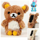 2016 Newest Cute 3D Teddy Bear Plush Toy Doll Cover Case For LG V20
