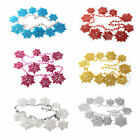 Color Snowflake Windows Door Christmas Tree Hanging Decoration Ornaments