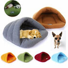 2018 Pet Cat Dog Nest Bed Puppy Soft Warm Cave House Sleeping Bag Mat Pad
