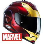 HJC IS-17 MARVEL IRON MAN IRONMAN COMPOSITE FULL FACE MOTORCYCLE HELMET