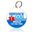 Service Dog - Pet ID Tag - Custom Personalized Service Dog ID Tag Various Shapes