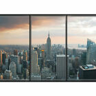 "Vlies Fototapete ""no. 1929"" ! New York Tapete Skyline New York Fenster Ausblick"