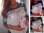 Fashion Autumn Womens Loose Pullover T Shirt Long Sleeve Casual Tops Blouse New