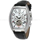 FORSINING Luxury Skeleton Stainless Steel Mechanical Automatic Mens Watch 694# image