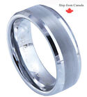 High Quality Genuine Classic 8mm Tungsten Ring