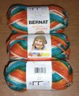 Bernat Softee Chunky Yarn, Lot of 3 Skeins, 2.8 oz ea ** You Choose Color**