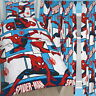 """Spiderman Parker Single Rotary Duvet and Matching Curtains Set 72"""" Drop Bed Set"""