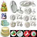 Christmas Theme Fondant Sugarcraft Cake Decorating Icing Plunger Cutters Mould
