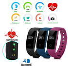 Kyпить ID107 Smart Watch Wristband Bluetooth OLED Fitness Tracker Heart Rate Monitor UK на еВаy.соm