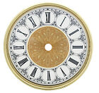 NEW Complete Clock Dial with Bezel & Glass Set - Roman Numbers (DB21)