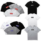 New Style Supreme Classic T-Shirts Motion Print Logo Mens Womens Tops Unisex Tee