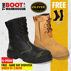 Oliver Work Boots 55385, Steel Toe Safety High Leg, Zip Side. NEW STYLE! SAVE!