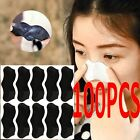 100PCS Nose Pore Cleansing Strips Blackhead Remover Peel Off mask/Nose Sticker