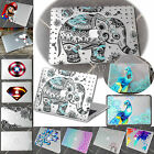 Pattern Printed Clear See-through Rubberized Hard Case Cover For Macbook Air Pro