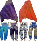 Harem Pants Trousers Hippie Gypsy Festival Genie Aladdin Baggy Yoga New Jumpsuit