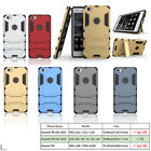 Hybrid Armor Heavy-Duty Stand Case Cover For Huawei P8lite, ALE-L02 ALE-L23