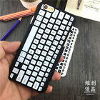 Creative Retro Keyboard Fashion Trendy Funny Case For iPhone 7 Plus 6 6S Plus 5S